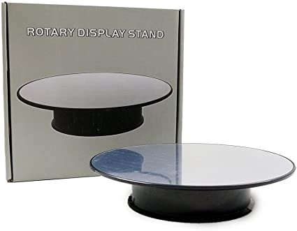 Rotating Mirror Display Stand 10 inch Battery Operated for 1//24 scale Spinning