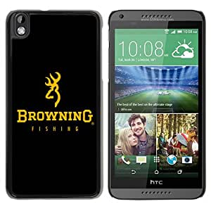 Individual Design Phone Case Of Browning Logo black gold Black Popular Sale HTC Desire 816 Phone Case