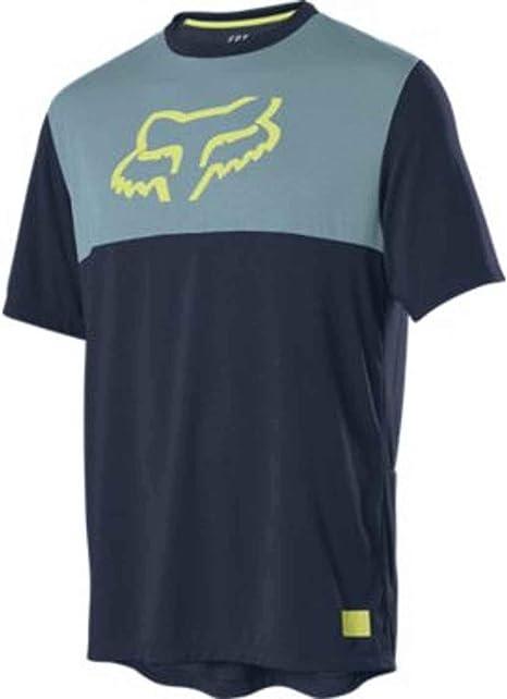 Fox Racing 2019 Ranger s//s Short Sleeve Fox Head Jersey Black