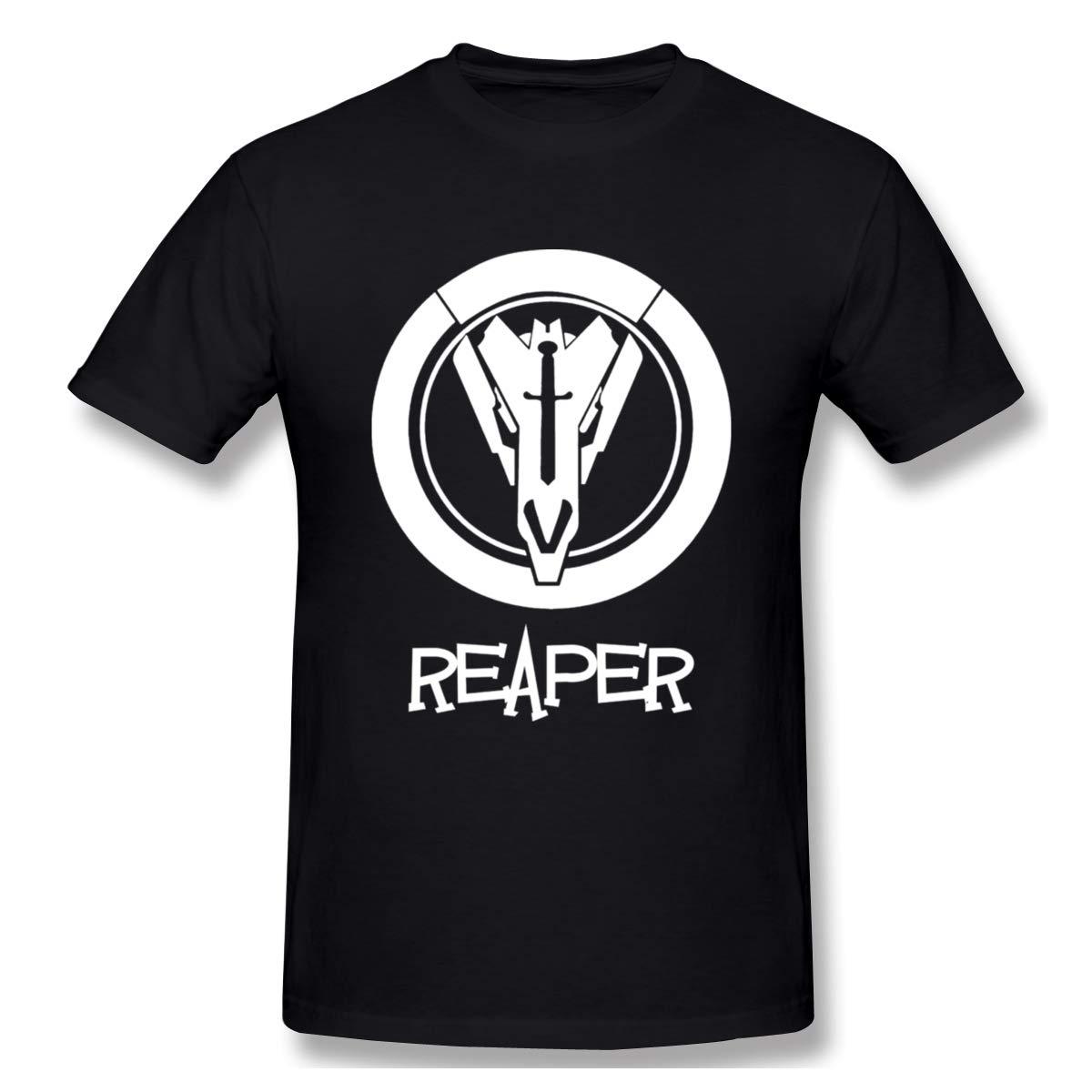 S Overwatch Reaper Short Sleeve Shirt Black
