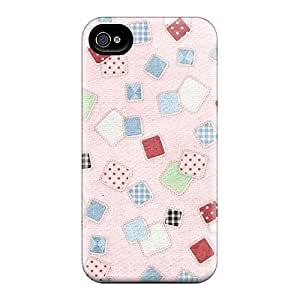 Series Skin Cases Covers For Iphone 6(pink Checkered)