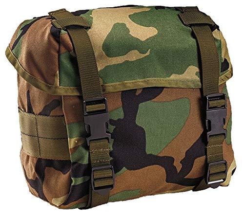 Rothco Enhanced Nylon Butt Pack, Woodland Camo ()