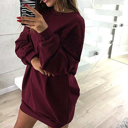 Oversize Camouflage Robe Pull Manches Robe Sweat Hoodie Imprim Baie OverDose Longues xqYwCqdIE