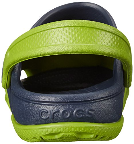 crocs Unisex-Kinder Electro Ii Clog Grün (Parrot Green/Navy)