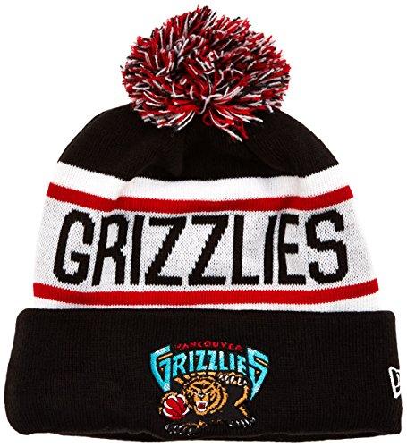 NBA VANCOUVER GRIZZLIES New Era Biggest Fan Redux Knit Beanie, One Size, Black