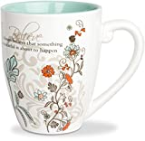 Pavilion Gift Company 66342 Believe Ceramic Mug, 20-Ounce, Mark My Words