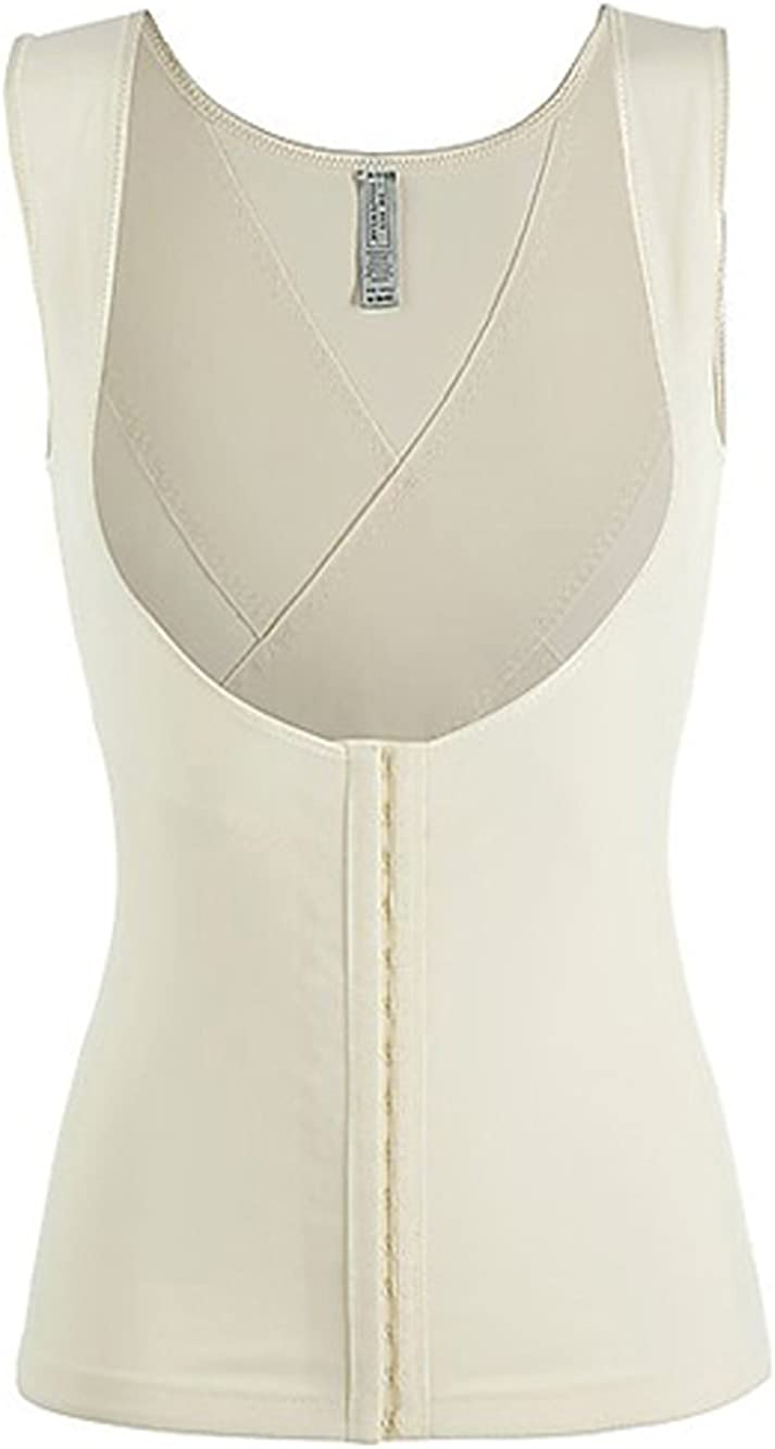Dr Champagner Rey Shapewear Tank Brustbereich Open-Bust Camisole Black Haut