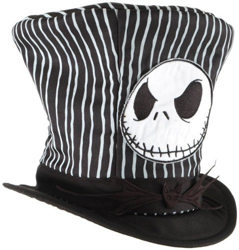 Jack Skellington Top Hat (Jack Top Hat Costume Accessory)