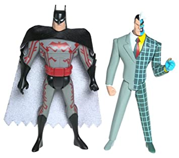 BATMAN La Serie Animada Figura de acción 2 Tech Traje Vs ...