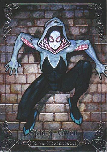2018 Upper Deck Marvel Masterpieces Base Set Card #59 Spider-Gwen /1499