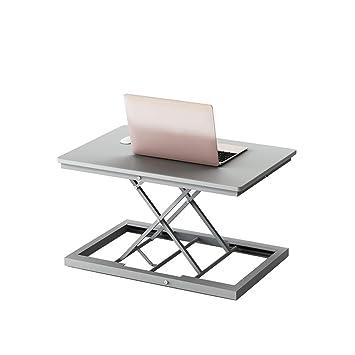 Mesa De Trabajo Portátil, Escritorio De Oficina Ajustable Soporte ...