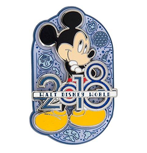 Disney World Pins (2018 Mickey Mouse Walt Disney World Pin)