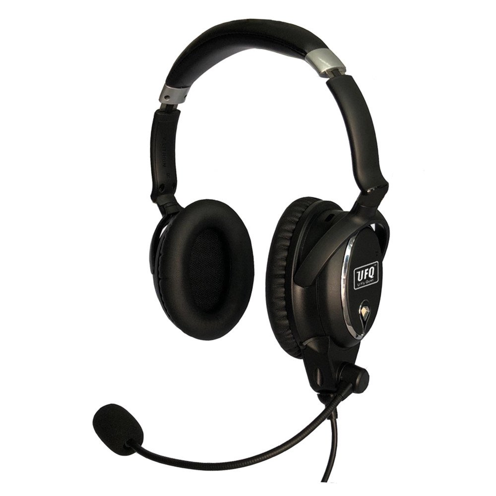 UFQ A7 ANR Aviation Headset- Compare with QC25 Together with U Fly Mike A7 Could be a Small Version XXXX XXX BUT More Comfortable Clear Communication Great Sound Quality for Music with MP3 Input