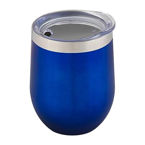 Amazon.com: Vaso de acero inoxidable con tapas de acero ...