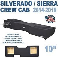 Chevy Silverado & GMC Sierra Crew Cab Solobaric Subwoofer box