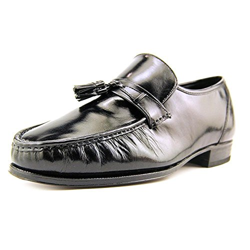 Florsheim Como Men US 10 3E Black Moc Loafer ()