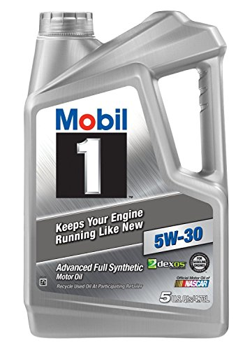 Mobil 1  5W-30 Motor Oil, 5 Quart, Pack of 3