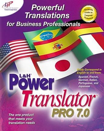 l&h power translator pro 7.0