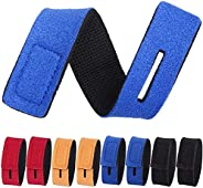 Fishing Rod Holders Belts, 6 Pcs 2*20cm Adjustable Fishing Rod Tie Strap for Fly Rods Telescopic Fishing Tackl