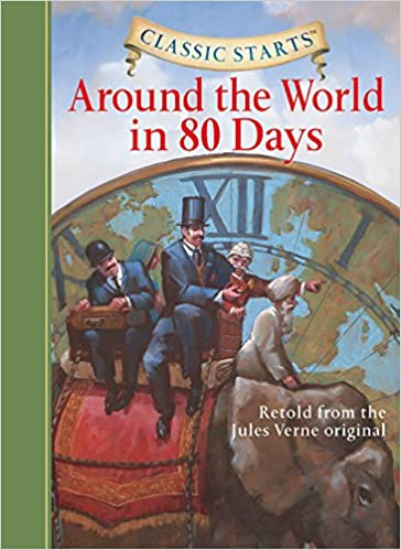 Buy Around the World in 80 Days (Classic Starts) Book Online at Low Prices in India | Around the World in 80 Days (Classic Starts) Reviews & Ratings ...