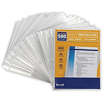 Amazon Com Avery Economy Clear Sheet Protectors Acid