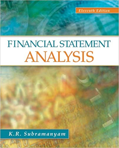 AmazonCom Financial Statement Analysis Ebook KR Subramanyam
