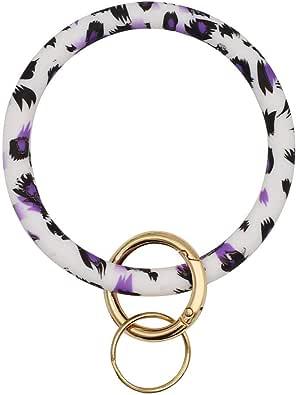 Mwfus womens Round Key Ring