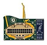 Oakland Athletics Scoreboard Ornament