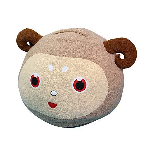 Fluffy Cartoon Lamb Storage Bag Beanbag Stuffed Animal Storage Bean Bag Kids -