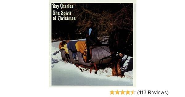 ray charles the spirit of christmas amazoncom music - Spirit Of Christmas Ray Charles