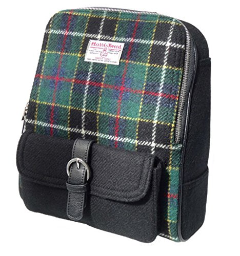 in Tweed LB1013 Blue Tartan Unisex Appin Green Glen 20 Col Scotland Harris by 21 Backpack made and XBqqw07