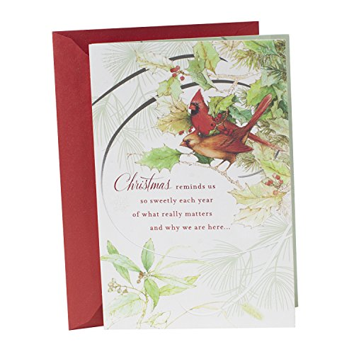 Hallmark Christmas Card (Thinking Of You Cardinals)