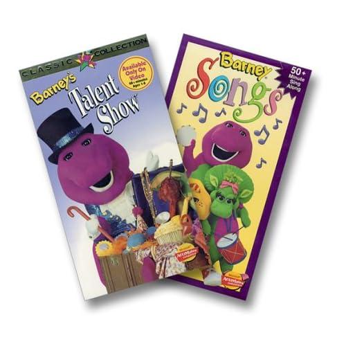 Amazon.com: Barney - Barney's Talent Show/Barney Songs [VHS]: Barney