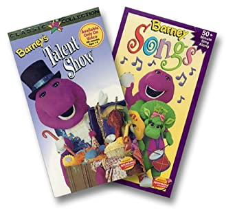 Amazon com: Barney - Barney's Talent Show/Barney Songs [VHS