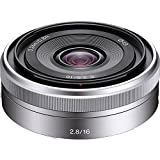 Sony SEL16F28 16mm f 2.8 Wide-Angle Lens for NEX Series Cameras
