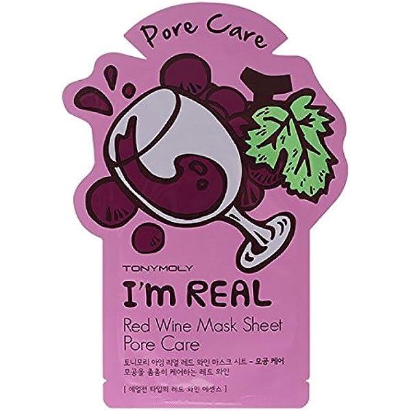 Sonido ymoly I m Real Red Wine Mask Sheet: Amazon.es: Belleza