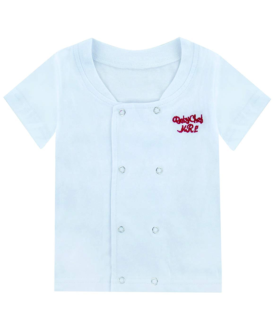 Mombebe Baby Boys 3 Pieces Chef Clothing Set with Hat