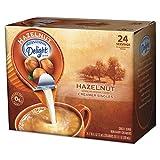International Delight 100680 Coffee Creamer, Hazelnut, 0.4375 oz Liquid, 24/Box