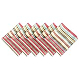 DII CAMZ36749 Cloth S for Everyday Place Settings Family Gatherings Bbq'S Holiday Parties & Catering Events Oversized & Stain Resistant, Summer Stripe