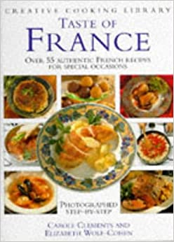 Book Taste of France (Creative Cooking Library)