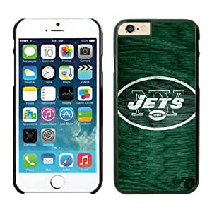 Personalized Design Phone Case For Iphone 6 New York Jets iPhone 6 4.7 Inches Cases 26 Black TPU Protective Phone Case