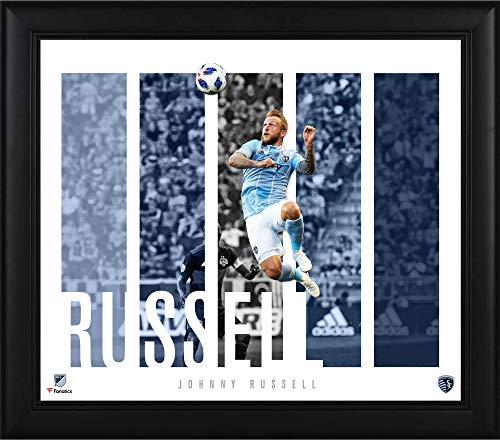 Johnny Russell Sporting Kansas City Framed 15