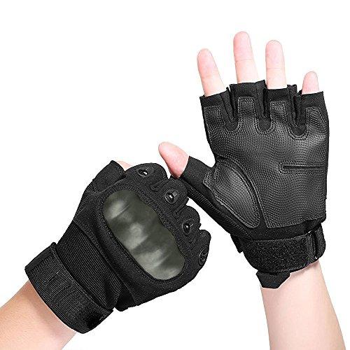 [1 Pair] Newdora Tactical Riding Fitness Bicycle Cycling Climbing Gloves