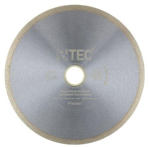 Diamanttrennscheibe Top-Speed Schneidtisch 200 x 25,4 mm für Fliesenschneidmaschinen