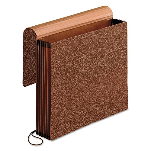 Pendaflex 60545 Premium Reinforced Expanding Wallet, 1 Pocket, Letter, Brown ()