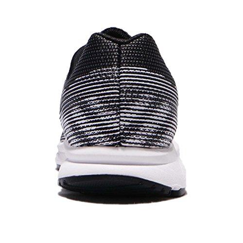 Donna 2 Black White Scarpe EU Silver 001 Wmns 41 Nike Dark Grey da Zoom Trail Metallic Span Running q68xAzt