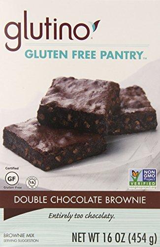 Glutino Gluten Free Flour (Glutino Gluten Free Pantry Double Chocolate Brownie Mix, 16 Ounce)