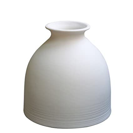 Amazon Jomop Small White Vase Ceramic Ceramic Bud Vases White