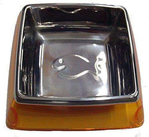 Kuji Sports 5-82015 Sm Org Utopian Cat Bowl Pet Food Dish ()