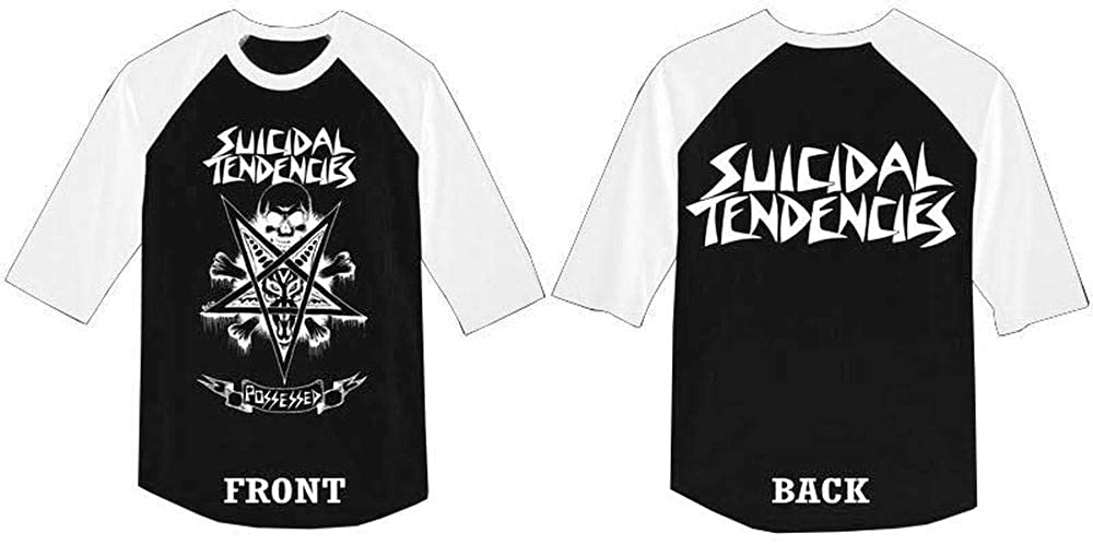 Suicidal Tendencies Official Girl Skater Softball T-Shirt